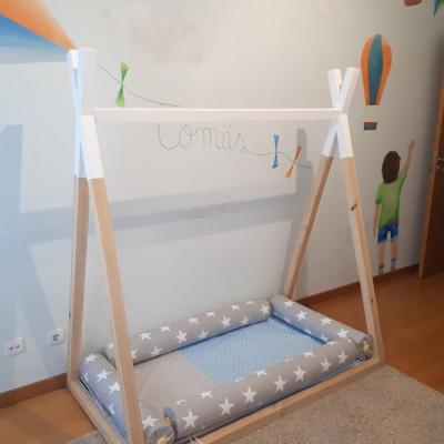 Camas montessorianas para bebé