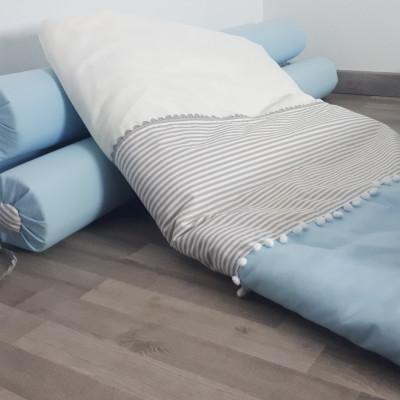 exemplo de um dos edredons para cama de menino da Gusca